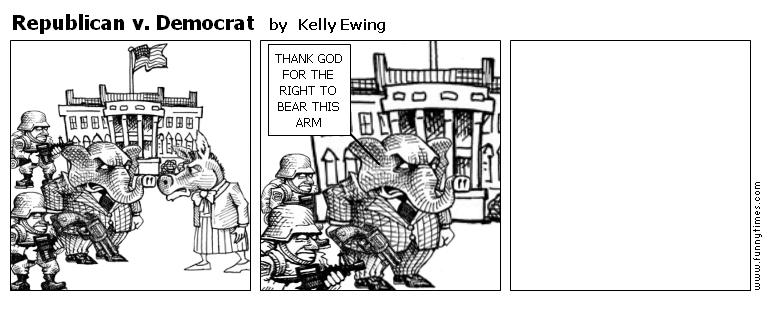 Republican v. Democrat by Kelly Ewing