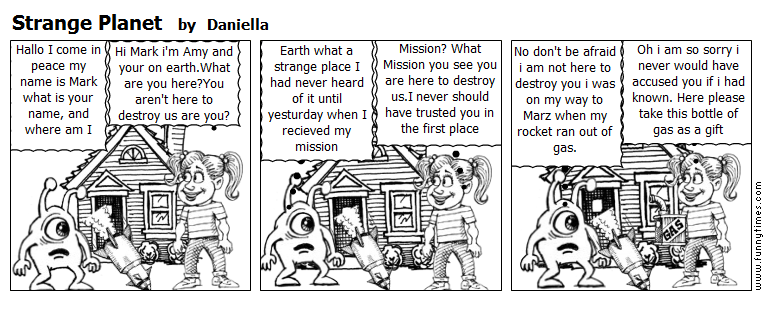 Strange Planet by Daniella
