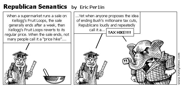 Republican Senantics by Eric Per1in