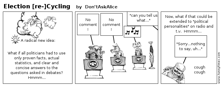 Election re-Cycling by Don'tAskAlice