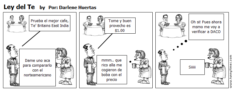 Ley del Te by Por Darlene Huertas