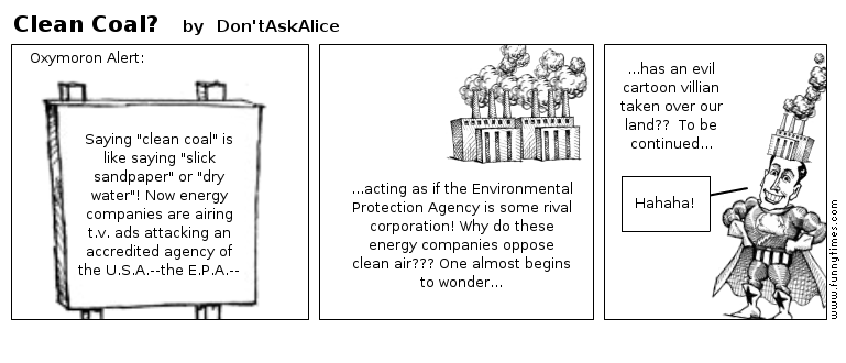 Clean Coal by Don'tAskAlice