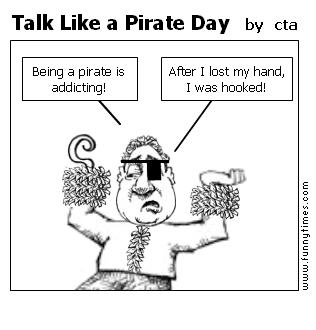 Talk Like a Pirate Day by cta
