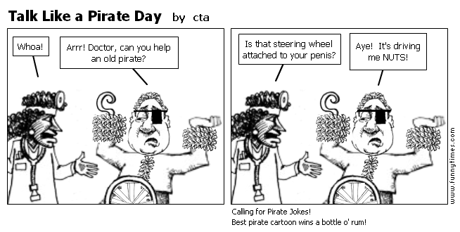 Talk Like a Pirate Day by cta