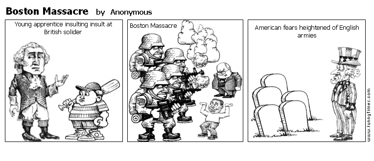 Boston Massacre by Anonymous
