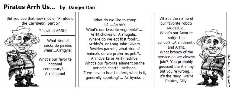 Pirates Arrh Us... by Danger Dan