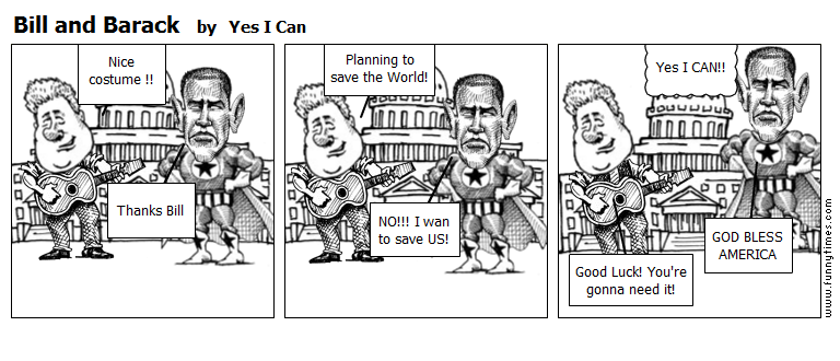 Bill and Barack by Yes I Can