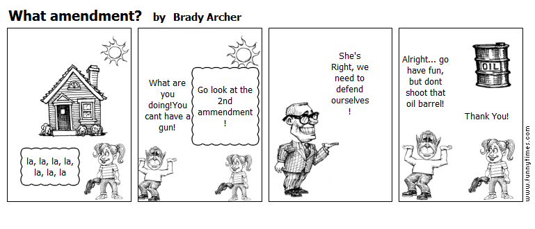 What amendment by Brady Archer