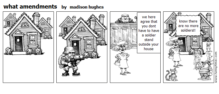 what amendments by madison hughes