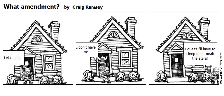 What amendment by Craig Ramsey