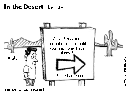 In the Desert by cta