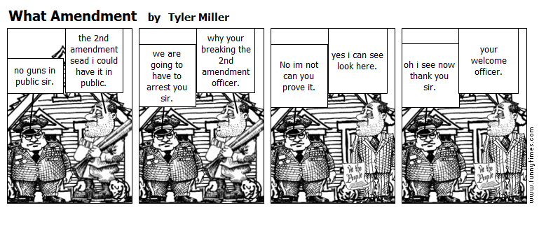 What Amendment by Tyler Miller