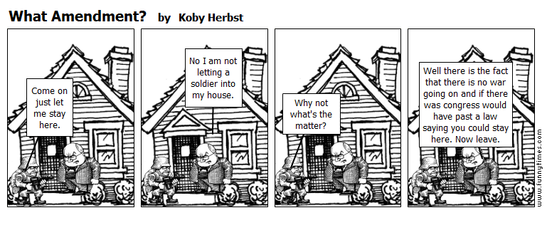 What Amendment by Koby Herbst