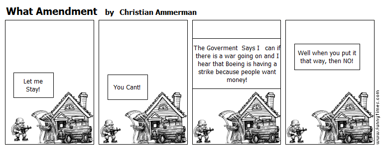 What Amendment by Christian Ammerman