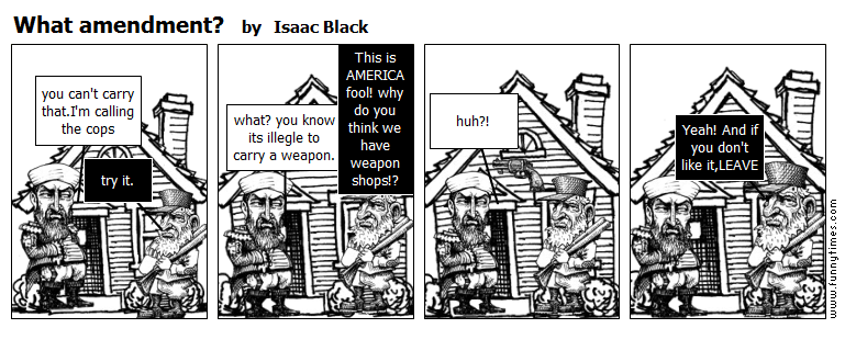 What amendment by Isaac Black
