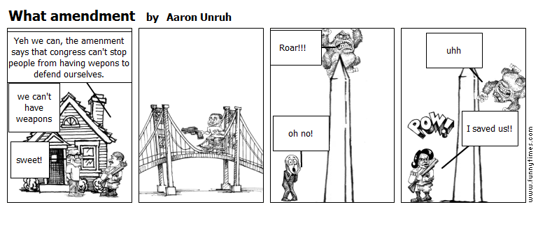 What amendment by Aaron Unruh