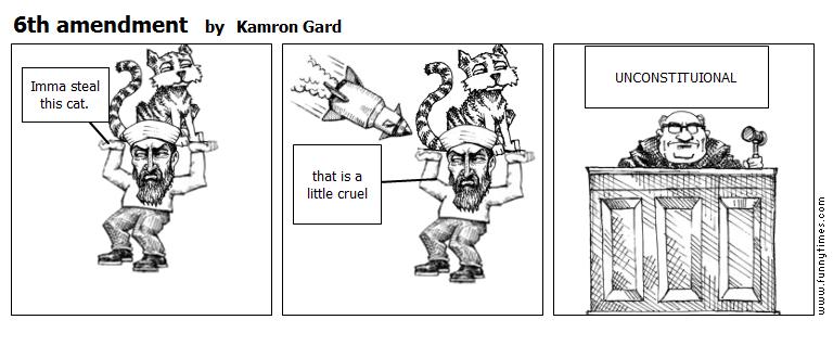 6th amendment by Kamron Gard