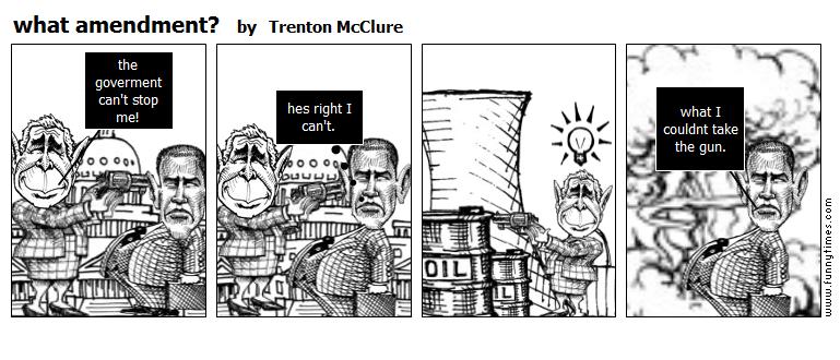 what amendment by Trenton McClure