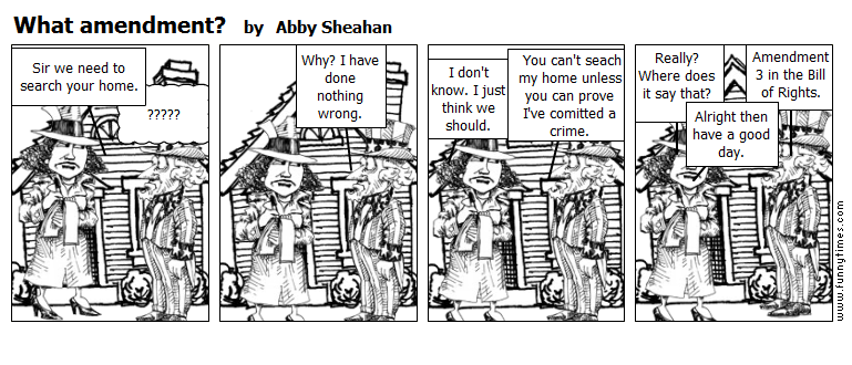 What amendment by Abby Sheahan