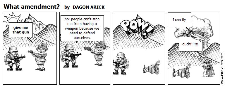 What amendment by DAGON ARICK