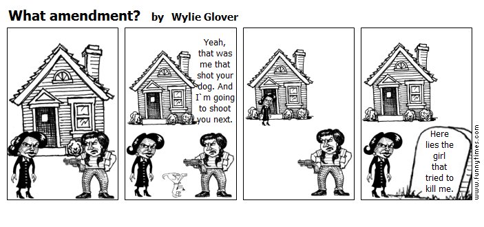 What amendment by Wylie Glover