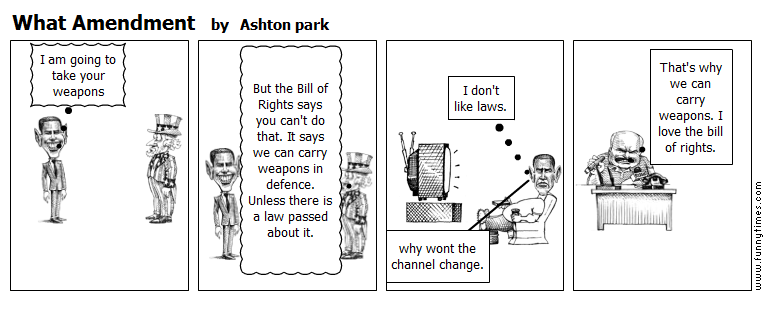 What Amendment by Ashton park
