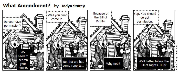 What Amendment by Jadyn Stutey