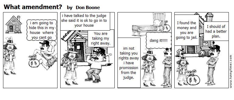 What amendment by Don Boone