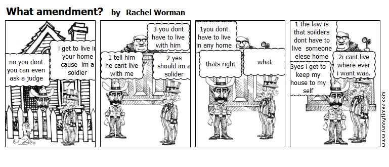 What amendment by Rachel Worman