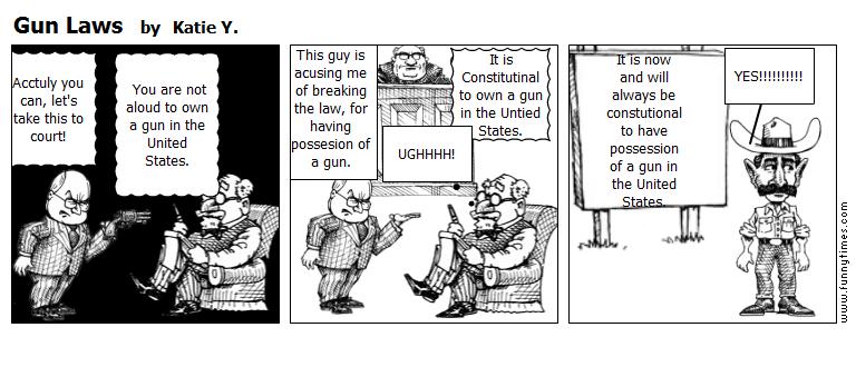 Gun Laws by Katie Y.