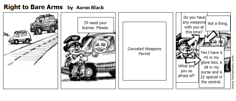 Right to Bare Arms by Aaron Black