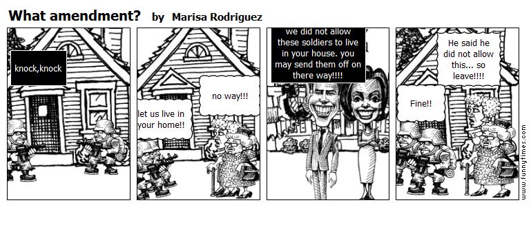 What amendment by Marisa Rodriguez