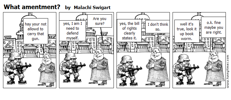 What amentment by Malachi Swigart