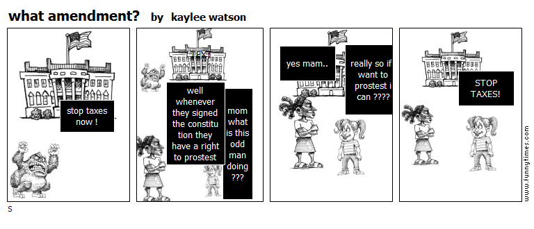 what amendment by kaylee watson