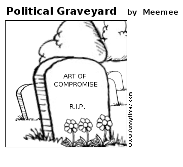 Political Graveyard by Meemee