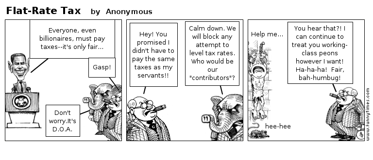 Flat-Rate Tax by Anonymous