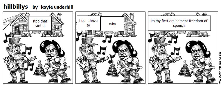 hillbillys by koyie underhill