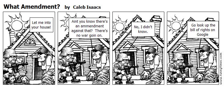 What Amendment by Caleb Isaacs