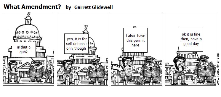 What Amendment by Garrett Glidewell