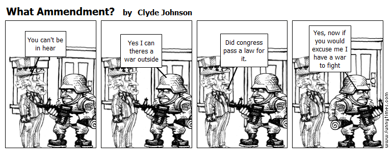 What Ammendment by Clyde Johnson