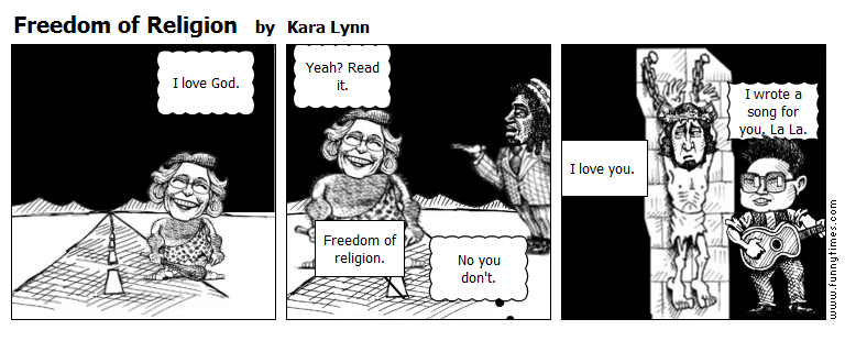 Freedom of Religion by Kara Lynn