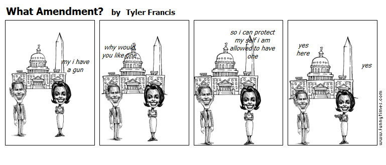 What Amendment by Tyler Francis