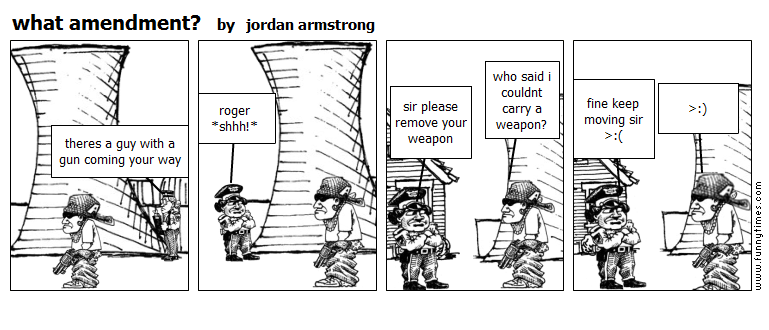 what amendment by jordan armstrong