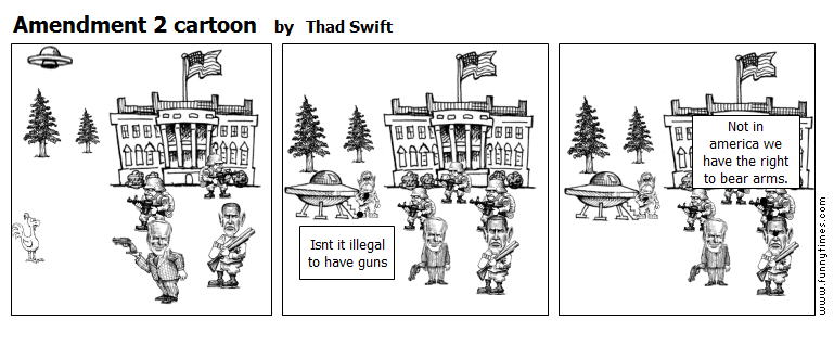 Amendment 2 cartoon by Thad Swift