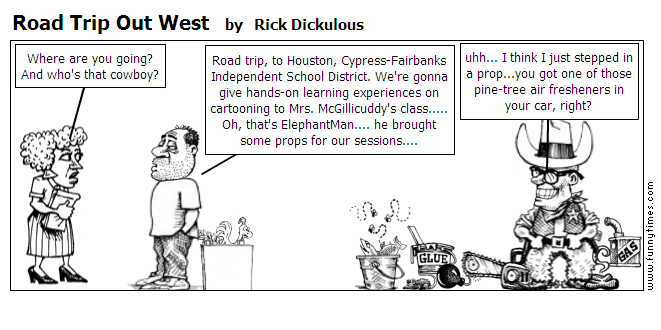 Road Trip Out West by Rick Dickulous