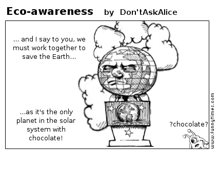 Eco-awareness by Don'tAskAlice