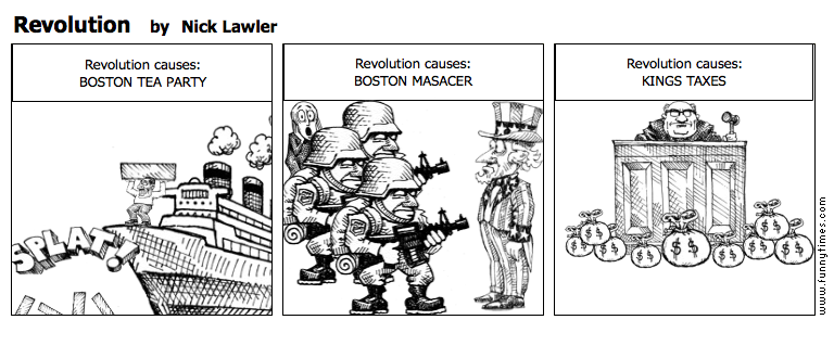 Revolution by Nick Lawler