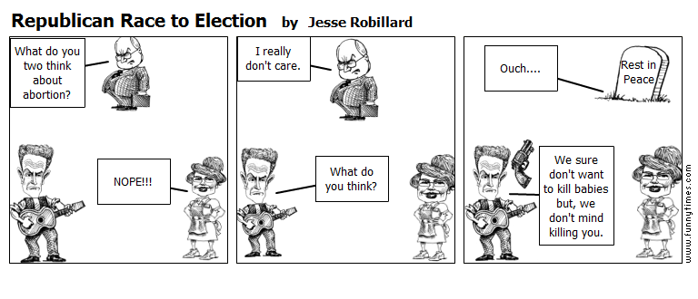 Republican Race to Election by Jesse Robillard
