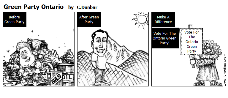 Green Party Ontario by C.Dunbar