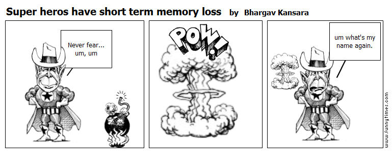 essay on short term memory loss Second web papers on serendip memory loss and memento yinnette sano memento actually does perpetuate some of the myths about amnesia and short term memory loss.